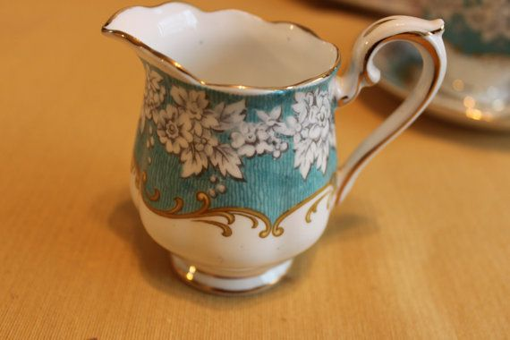 Royal Albert  Enchantment Pattern  Cream English by TeaAttheBrits, $22.00