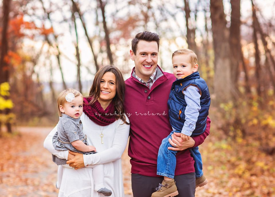 Fall Family Photo Outfit Idea Ashley Ireland Photography Fall
