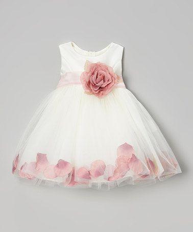 Meninas pétalas de rosa tutu princesa dama de honra do