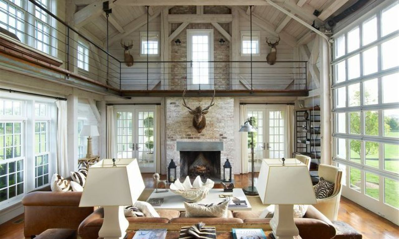 185 Best Modern Industrial Barn Farm House Images In Farm Industrial Interior Design Barn Style House Farm House Living Room Barn Interior
