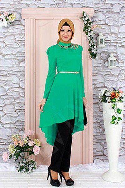 Yeşil-Alvina-Tunik-Modelleri.jpg (401×601)