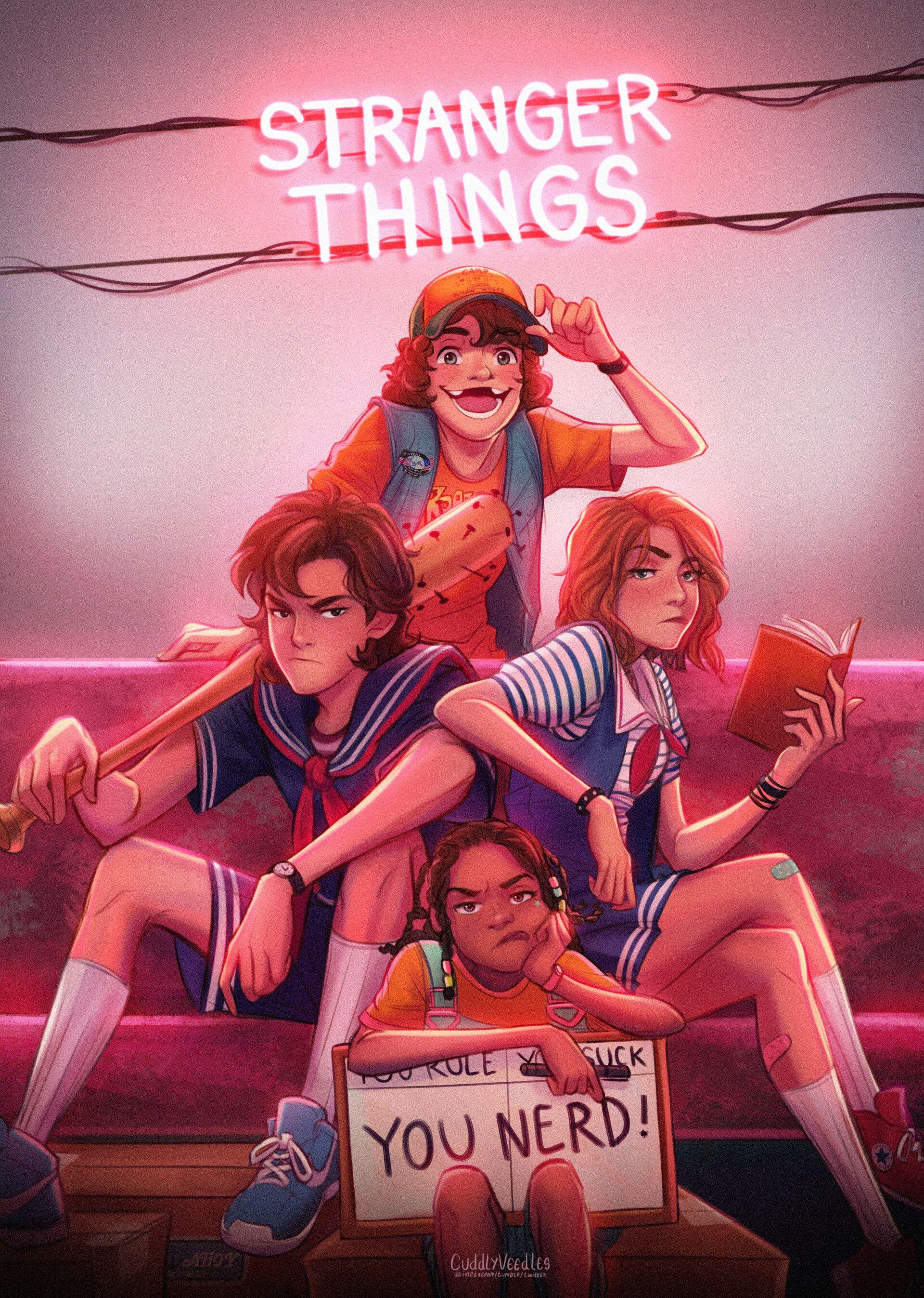 Stranger Things 3 : Scoops Troop #85, Veedles