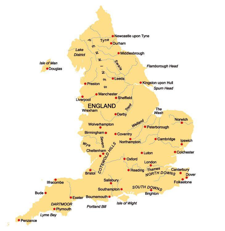 größten städte england