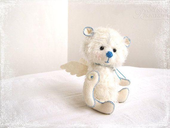 Teddy Angel white friend. So cute!