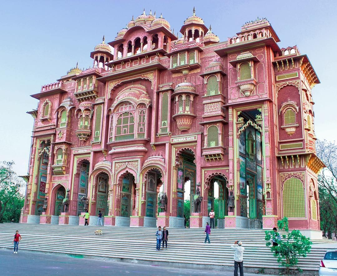 Jawahar Circle Garden In Jaipur Jaipur Travel Travel City Garden