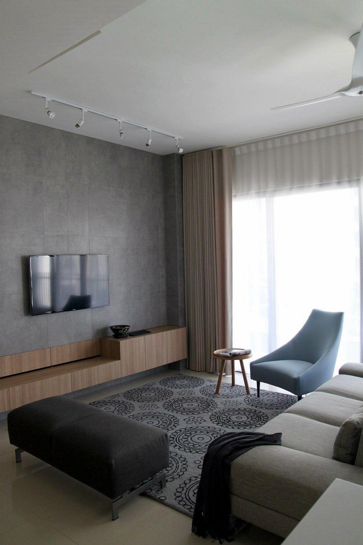 Lovely fine modern interior design style for this condominium home ...