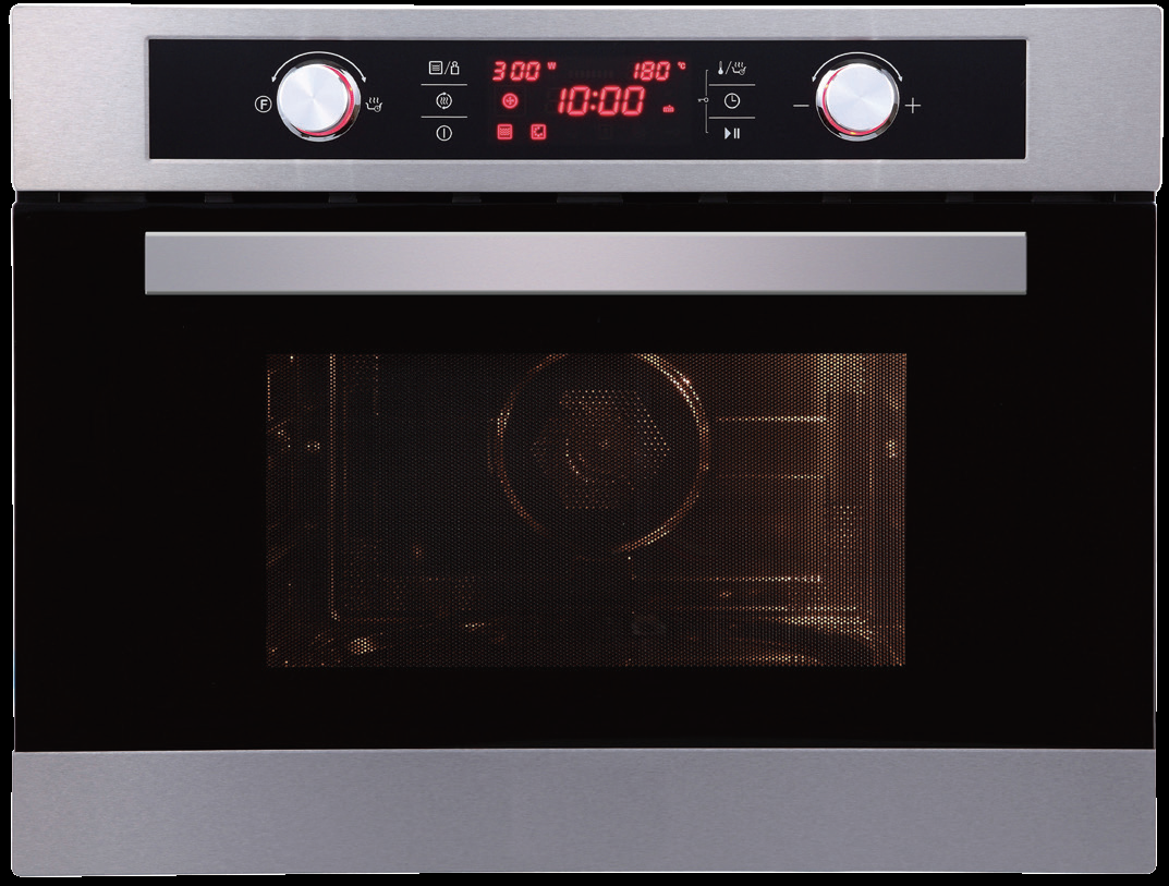 Ruhrr44 Built In Combi Microwave Oven Nagold By Hafele Built In Kitchen Appliances Hafele Stainless Steel Microwave