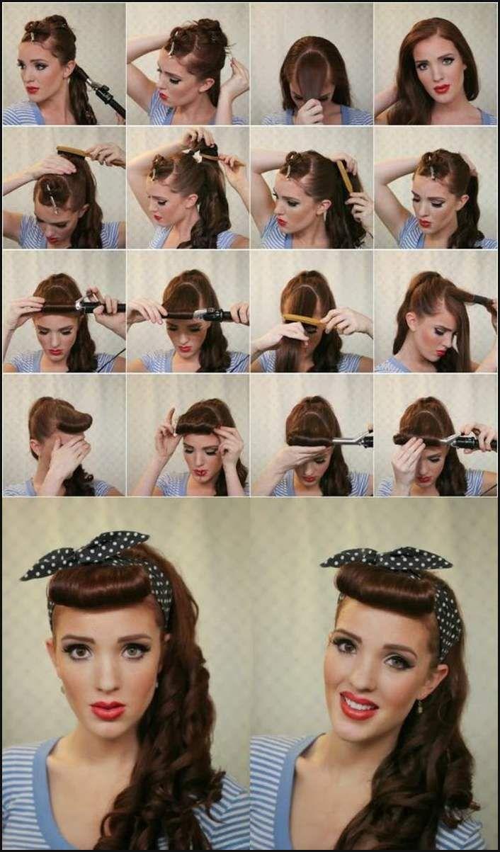 Hochsteckfrisuren lange lockige haare