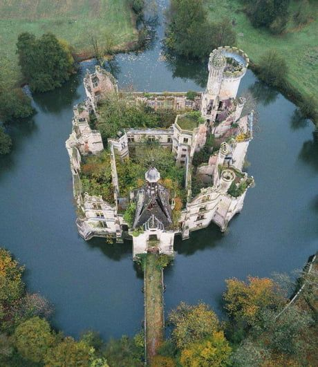 This Abandoned French Castle