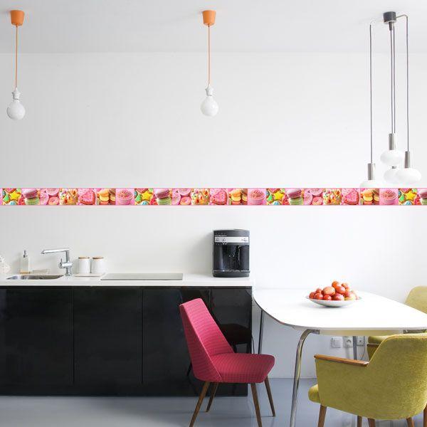 Nueva colección para decorar con cenefas las paredes de la cocina