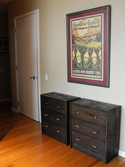 Ikea Rast Hack.  Less than $150 for the whole project.