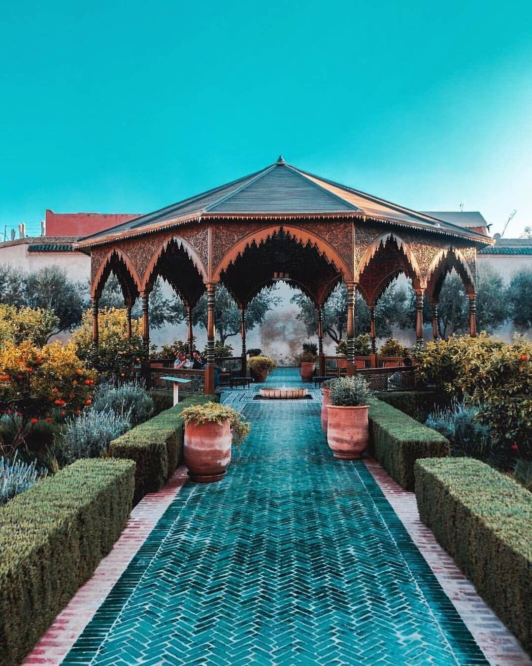 "Marrakech مراكش Marrakesh on Instagram ""Secret Garden"