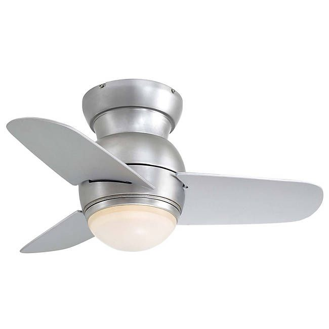 The Esaver Ceiling Fan By Minka Aire Is A Unique Small For Kitchen Nooks Compact Offices And Any Sized Room