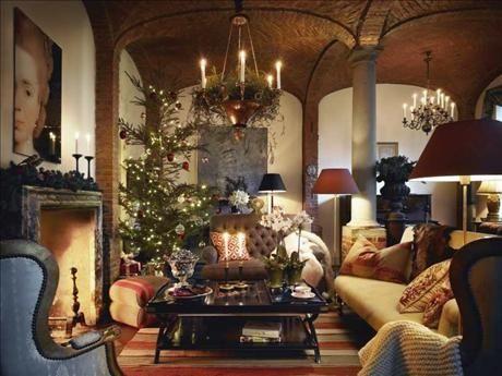 warm Swedish christmas style