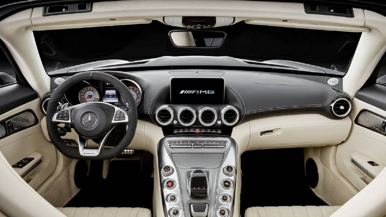 2017 Mercedes Amg Gt C Roadster Interior And Exterior Mercedes