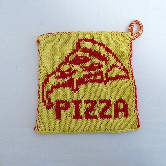 Ravelry Pizza Potholder Free Pattern By Lina Wolf Sticks String