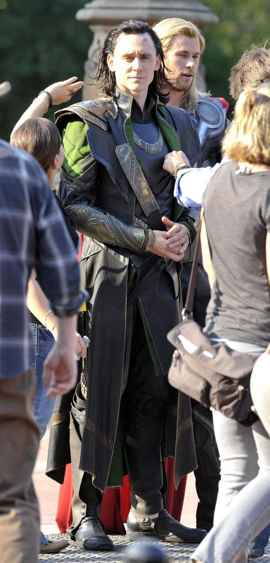 Tom in his Loki get-up