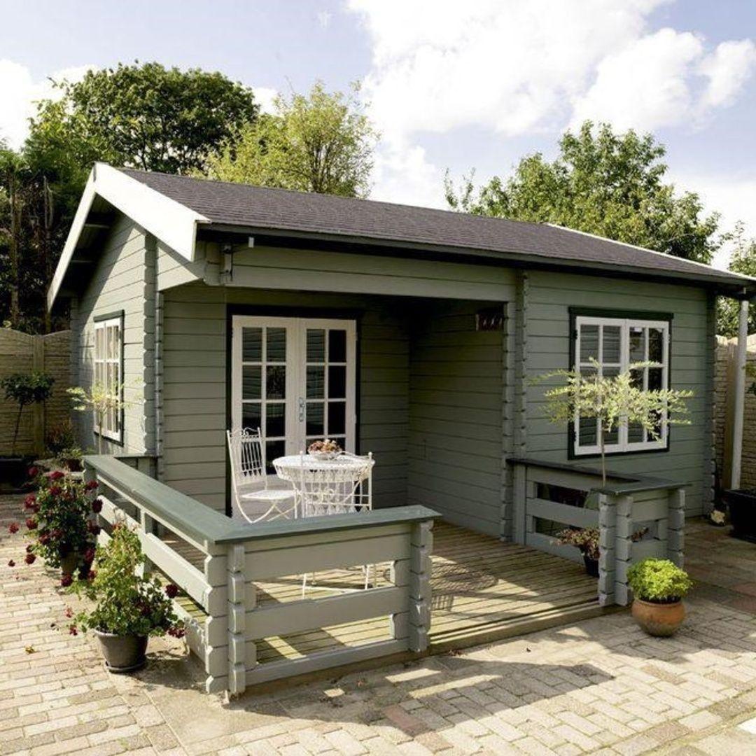 Dacha 365 On Instagram Zamechatelnyj Gostevoj Domik Vsyo Pri Nyom Summer House Garden Cabins Wooden Summer House