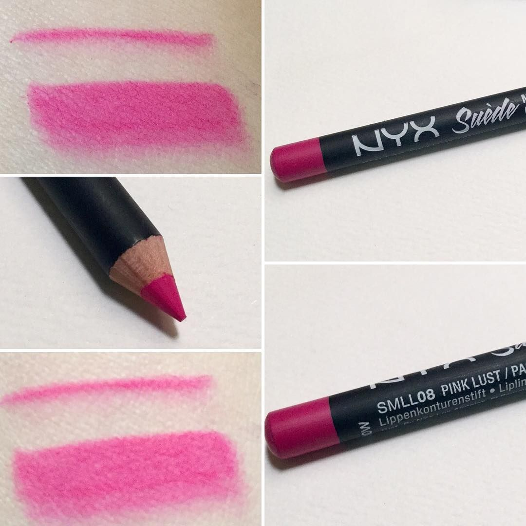 Nyx Cosmetics Suede Matte Lip Liner In Pink Lust Nyx Cosmetics