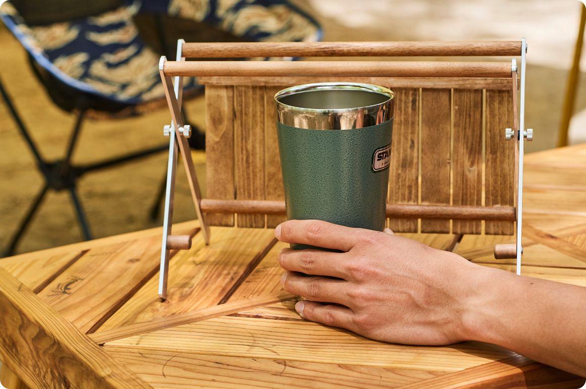 キャンプギアをdiy キャンプ仕様のコーヒードリップスタンド 2020 キャンプコーヒー ドリップスタンド キャンプ