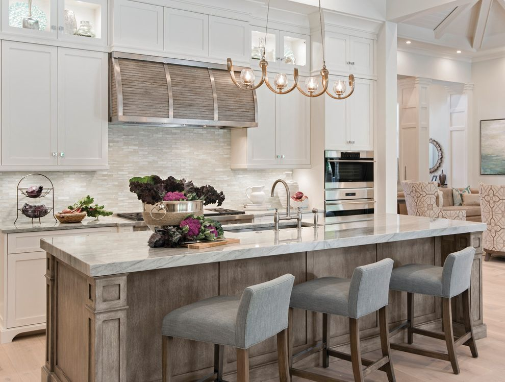 Countertops Jacksonville Fl with Transitional Kitchen and Bright Kitchen Gray Matchstick Tile Gray Upholstered Barstools Light & Countertops Jacksonville Fl with Transitional Kitchen and Bright ...