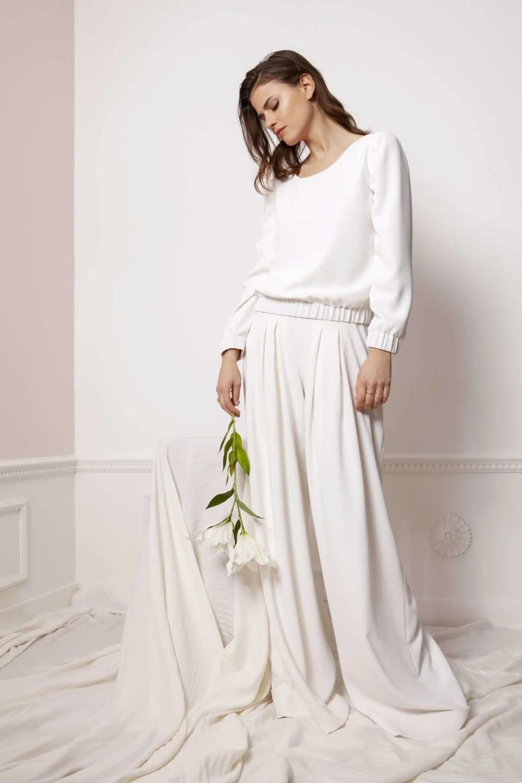 Mariage civil : la créatrice de Maison Floret décrypte ses robes de mariée 2020 en 2020 (avec ...
