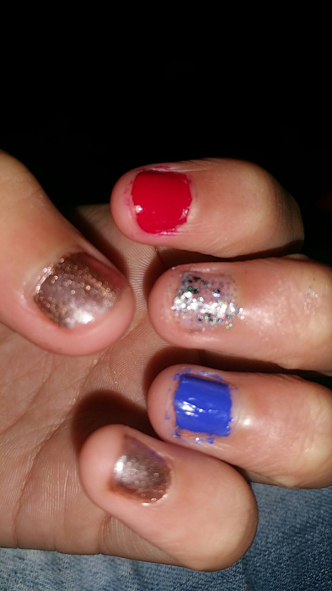 4th of July Nails!!!!!!🤗💅