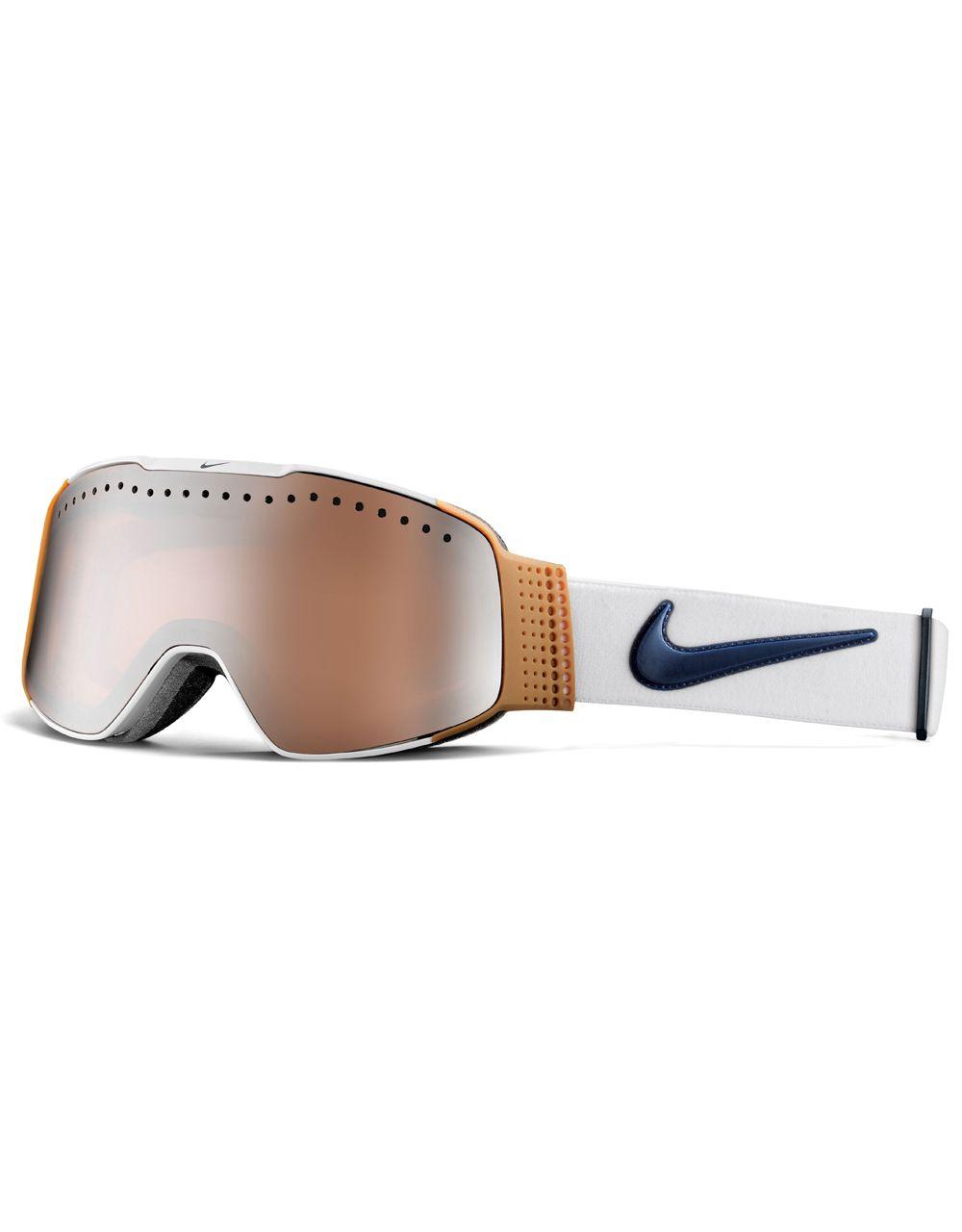 a8a37d8e83c9 ... Nike SB Fade 2016 Snowboard Goggles - WhiteGumObsidian - Silver Ion   Nike SB snow goggle MAZOT University RED WHITE BLACK ...