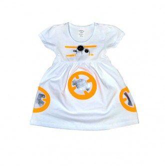 Robe bébé Star Wars BB-8 de AlyssaParisDesigns