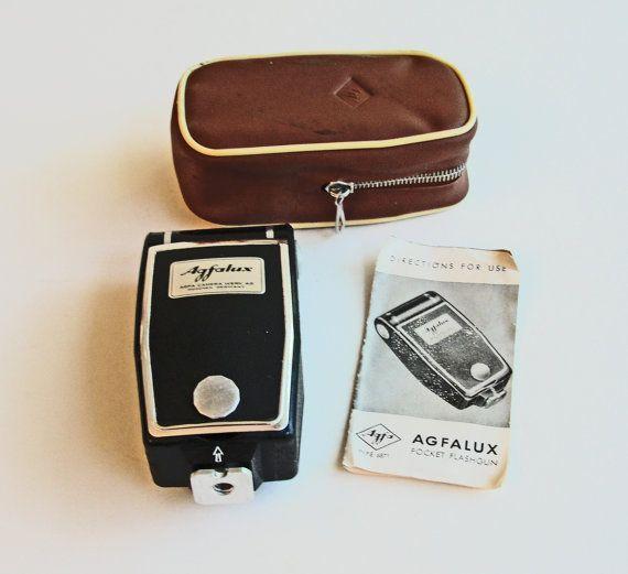 SALE Vintage Agfalux Pocket Flashgun Agfa Flash by RetrofitStyle, $9.00