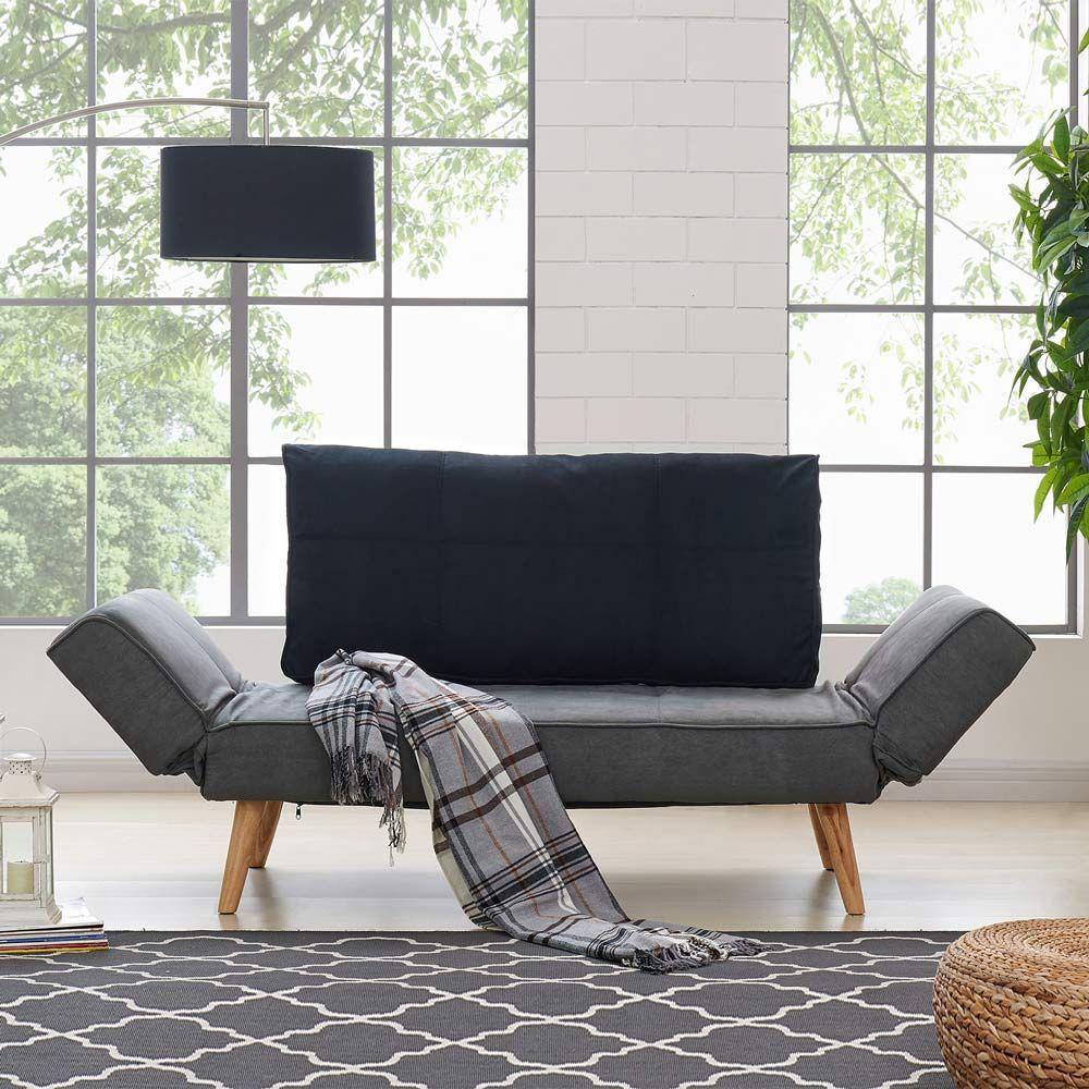 Luxo Aada Scandinavian Fabric Sofa