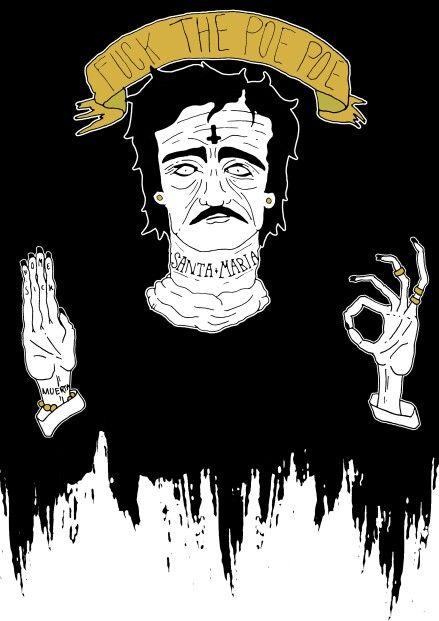 Edgar Allan poe illustration - from my blog www.noonwouldriotforless.blogspot.com