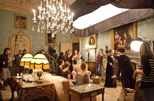 Downton Abbey Residence Cinematography Lighting Downton Abbey