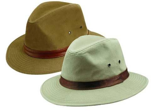 f7def09685a Dorfman Pacific Men s Safari Rain Hat