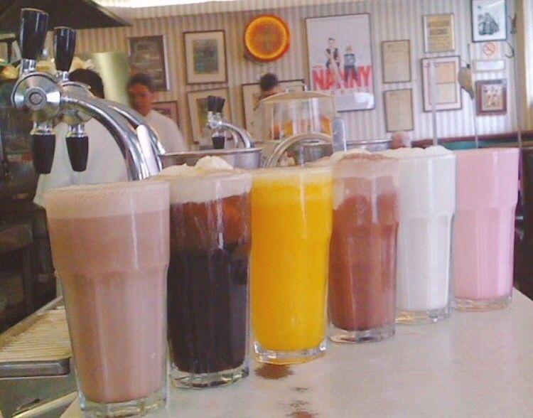 Milkshakes in New York City
