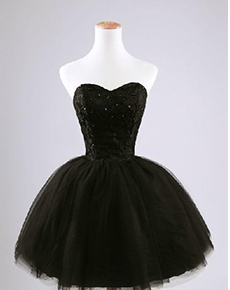 1000  images about Short Prom Dresses on Pinterest - Black tutu ...
