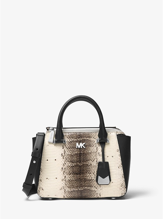 MICHAEL Michael Kors Nolita Mini Snake-Embossed Leather Crossbody 433f0dc3c59fe