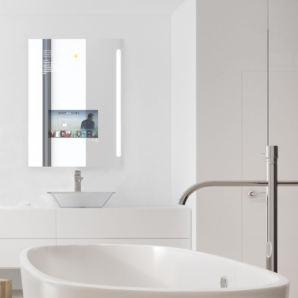 Use Qaio Smart Mirror Any Way You Want It A Vanity Mirror A Tv Or Both At The Same Time A Smarter Mirror Ind Smart Mirror Smart Bathroom Bathroom Technology [ 1000 x 1000 Pixel ]
