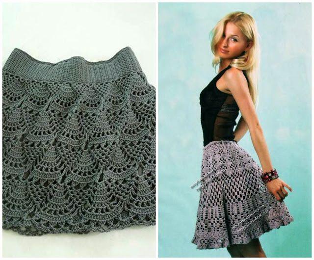 Little Treasures Rounded Up Ten Free Crochet Skirt Patterns