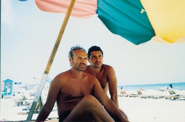 Versace with long-term boyfriend Antonio DAmico. Antonio
