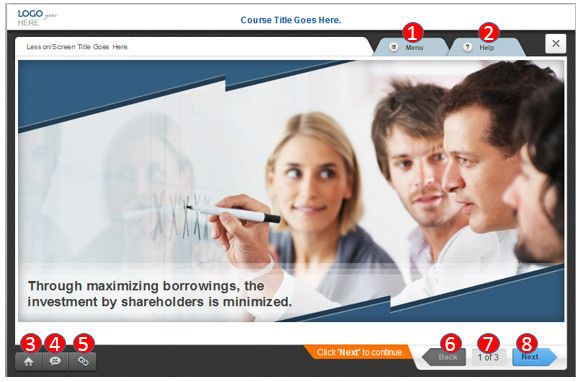 elearning course design interface - Google Search | E-Learning ...
