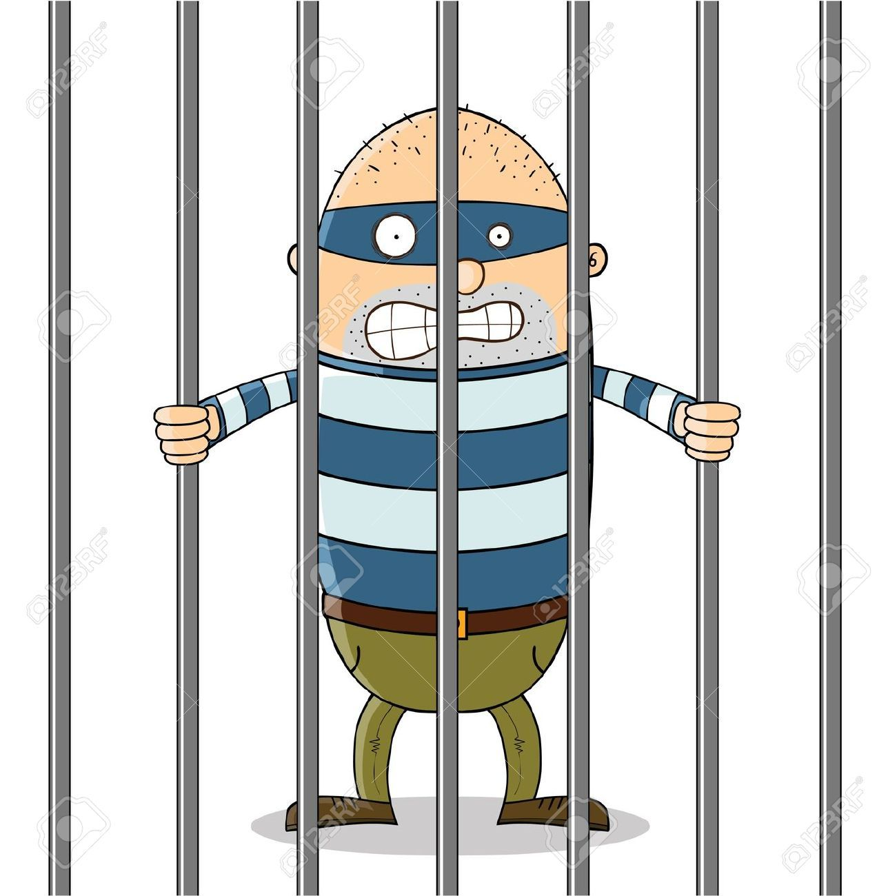 Jail Cartoon Clip Art | Cartoon Man in Jail Clipart (58 ...