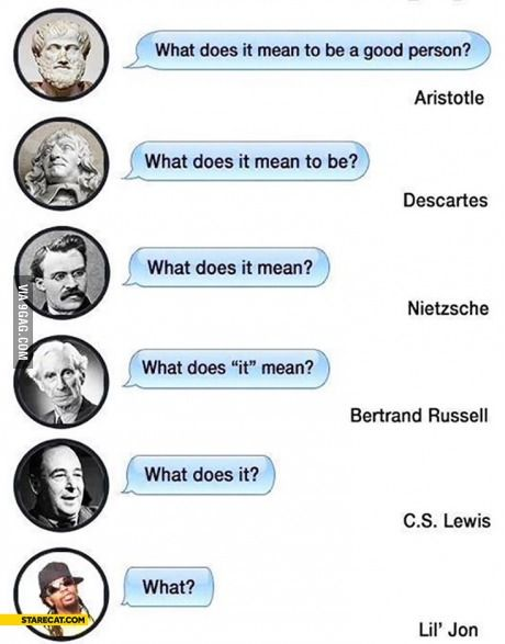 Evolution Of Philosophy Philosophy Funny Quotes Evolution