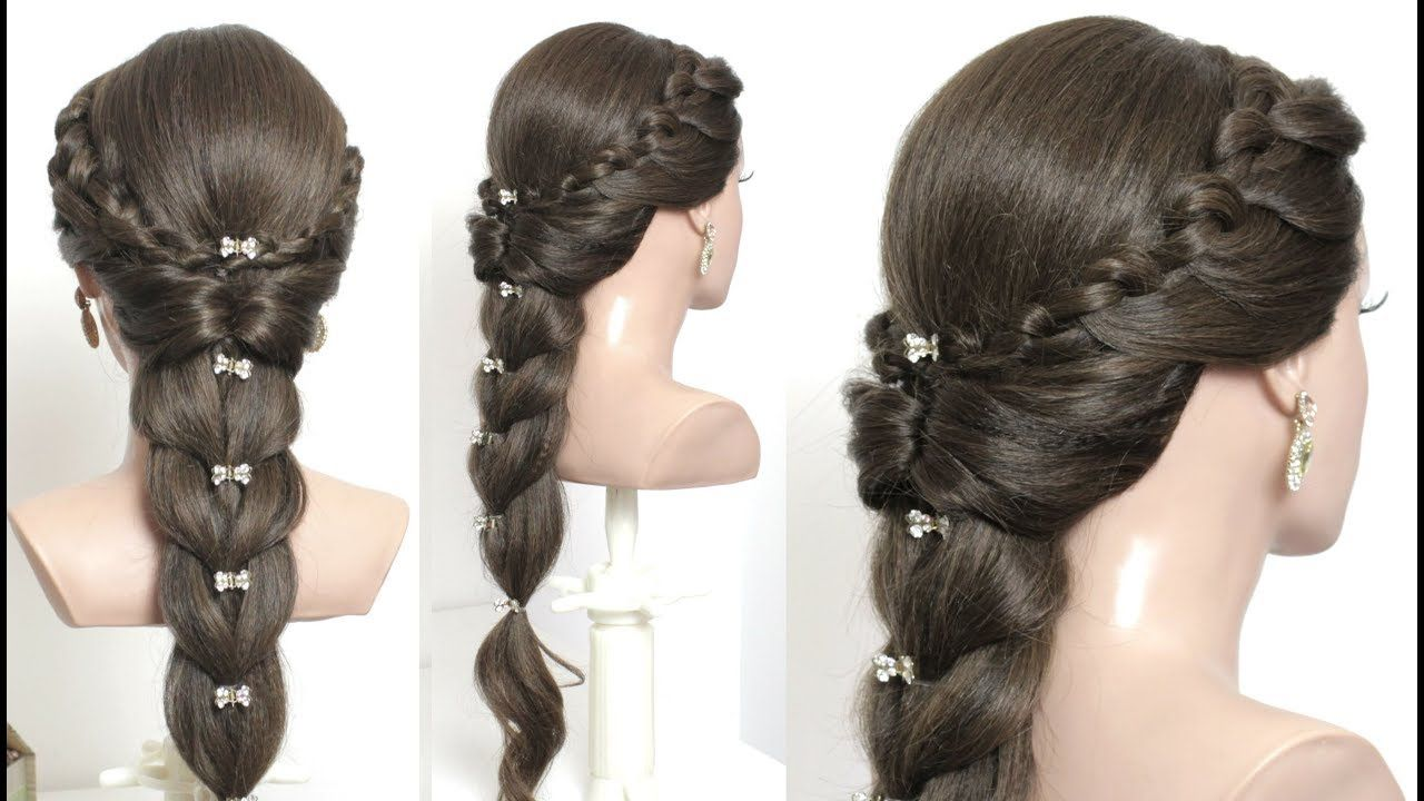 Easy Hairstyle For Long Hair Tutorial Step By Step Braided Hairstyles Easy Hairstyles Long Hair Styles