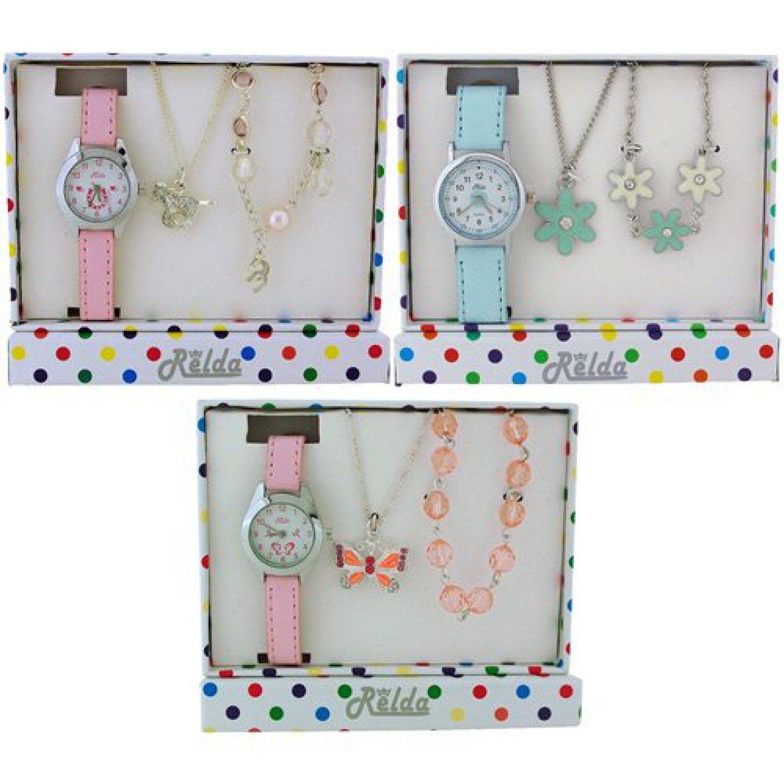 Relda kids watch u jewellery gift set pack of designs rel