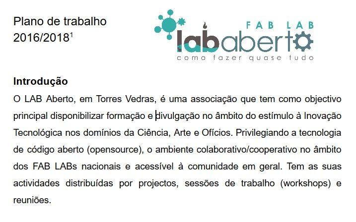 LAB Aberto