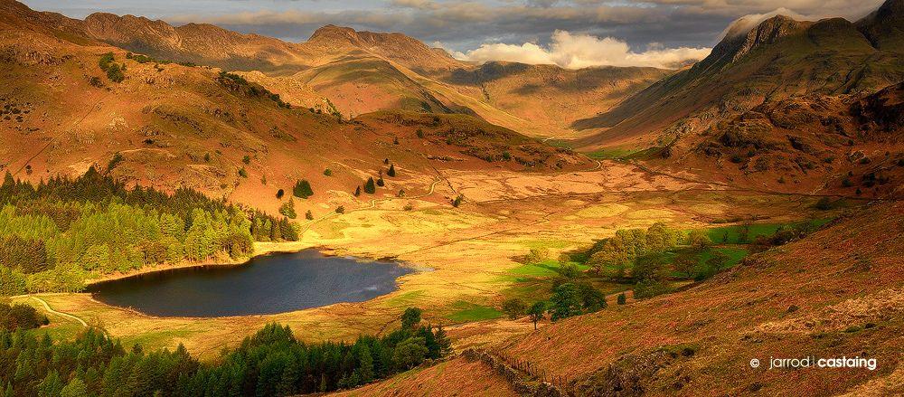 Uk England Blea Tarn Volcanes Montanas