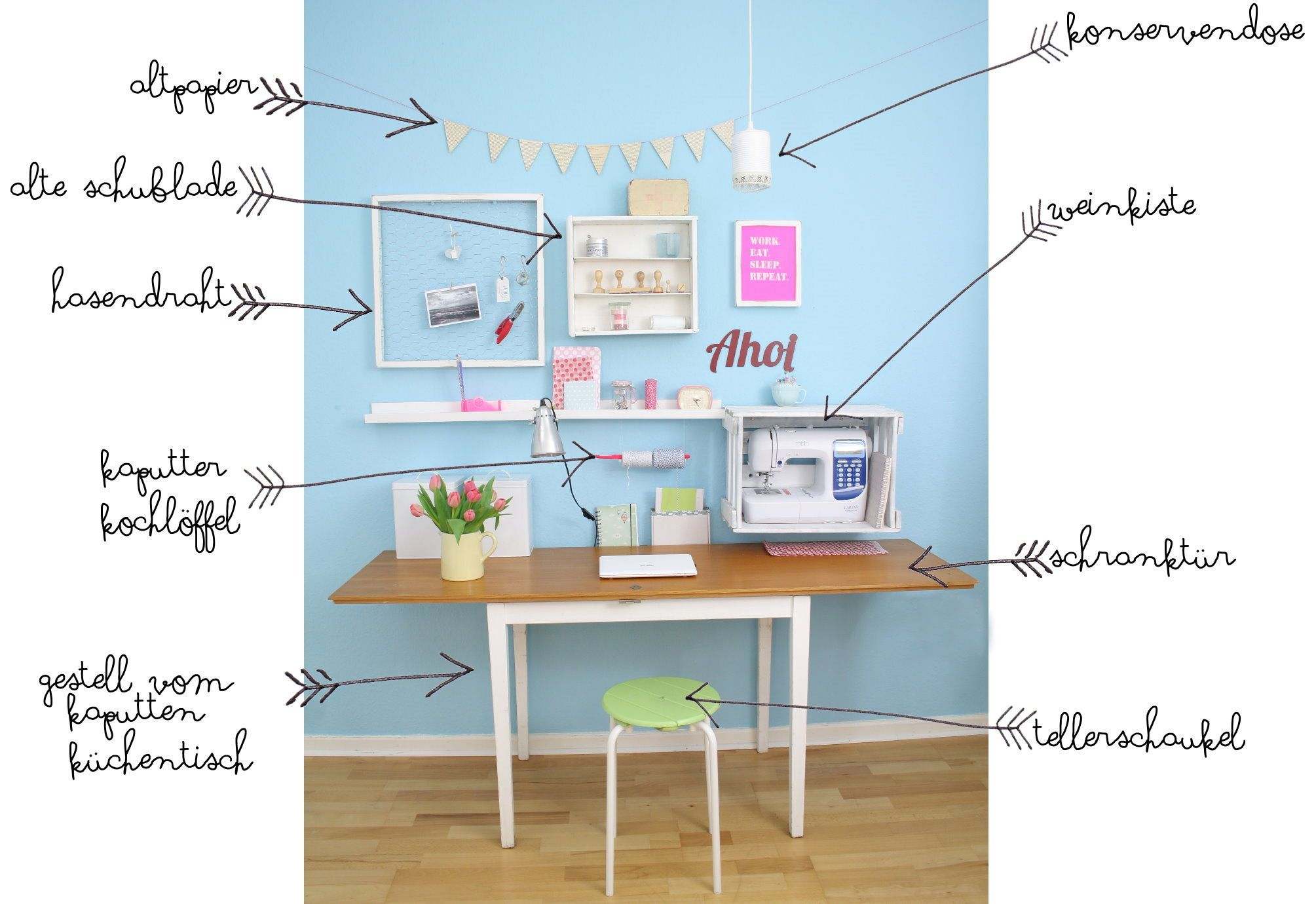 upcycling office | Diy upcycling, Upcycling und Büros