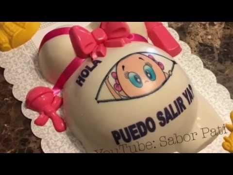 Gelatina Baby Shower Niña Rosvi Hernandez Youtube Gelatinas Gelatinas Para Fiestas Comida Para Baby Shower Recetas