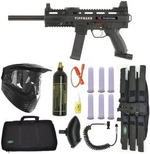 TIPPMANN X7 Phenom Electronic Paintball Gun Marker Sniper Set [ UpUrGame.com ] #paintball #gear #game